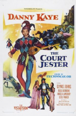 The Court Jester 1955 DVD - Danny Kaye / Glynis Johns